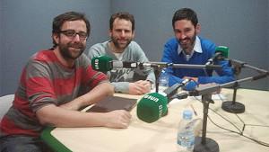 Rubén Palomo, Manuel Rodríguez y Francisco Fernández