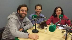 Rubén Palomo, Manuel Rodríguez y Pilar del Pozo