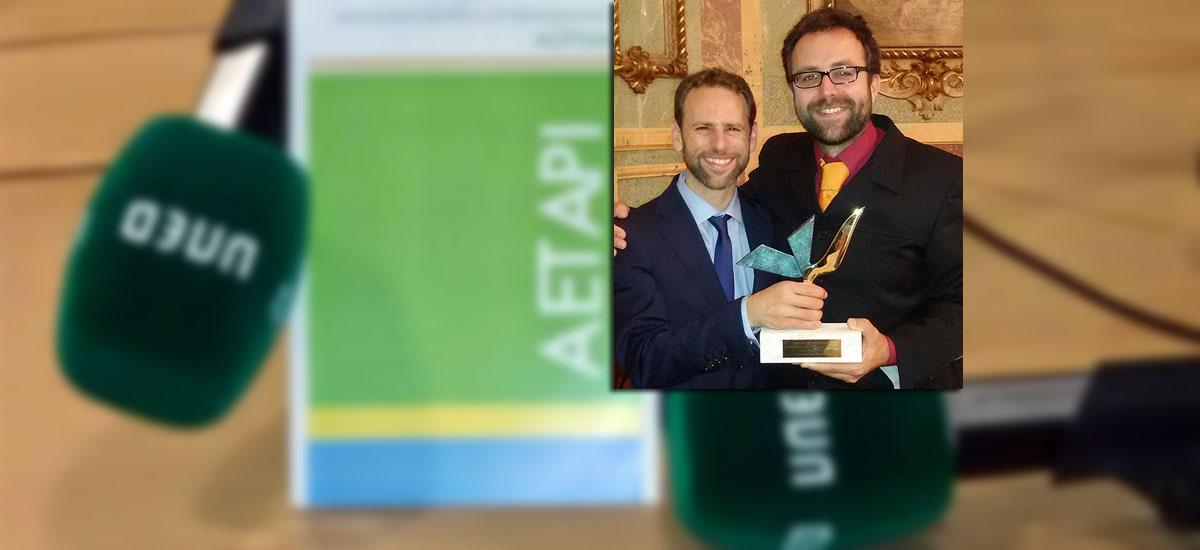 premio radio-uned AETAPI