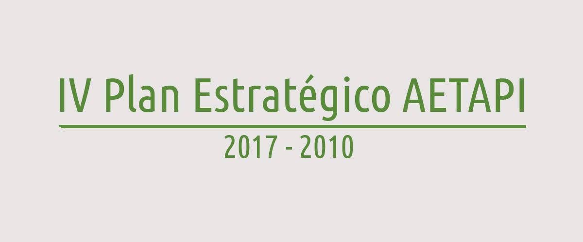 IV Plan Estragégico AETAPI