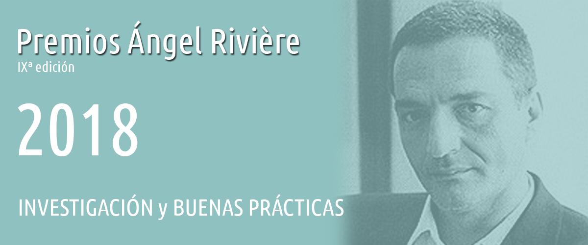 Premios Ángel Rivière 2018