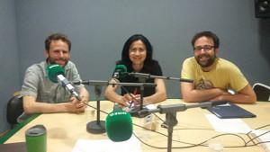 Rubén Palomo, Mara Parellada y Manuel Rodríguez