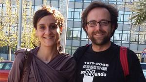 Gema Alcolea y Rubén Palomo