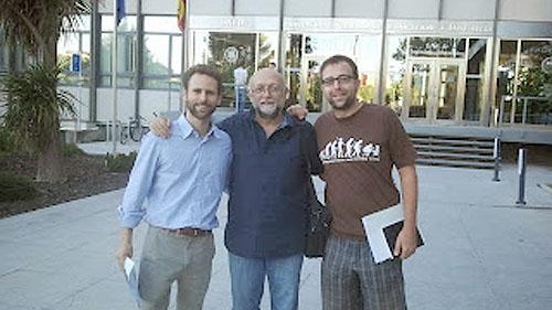 Manuel Rodríguez , Javier Tamarit y Rubén Palomo